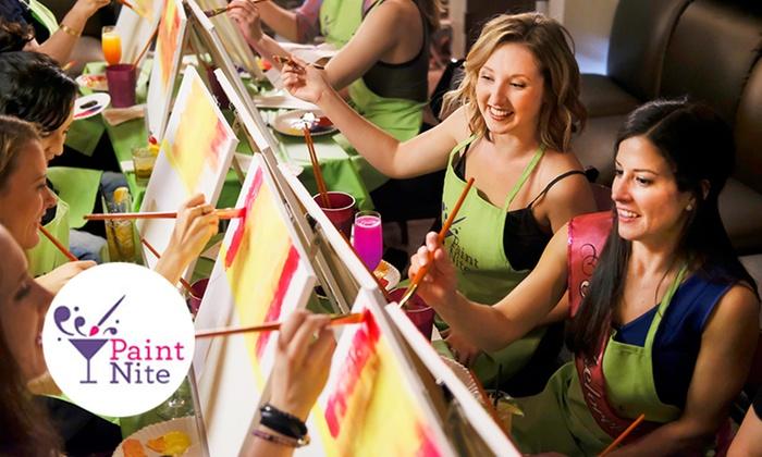 Paint Nite: Scatena il tuo Artista Interiore!