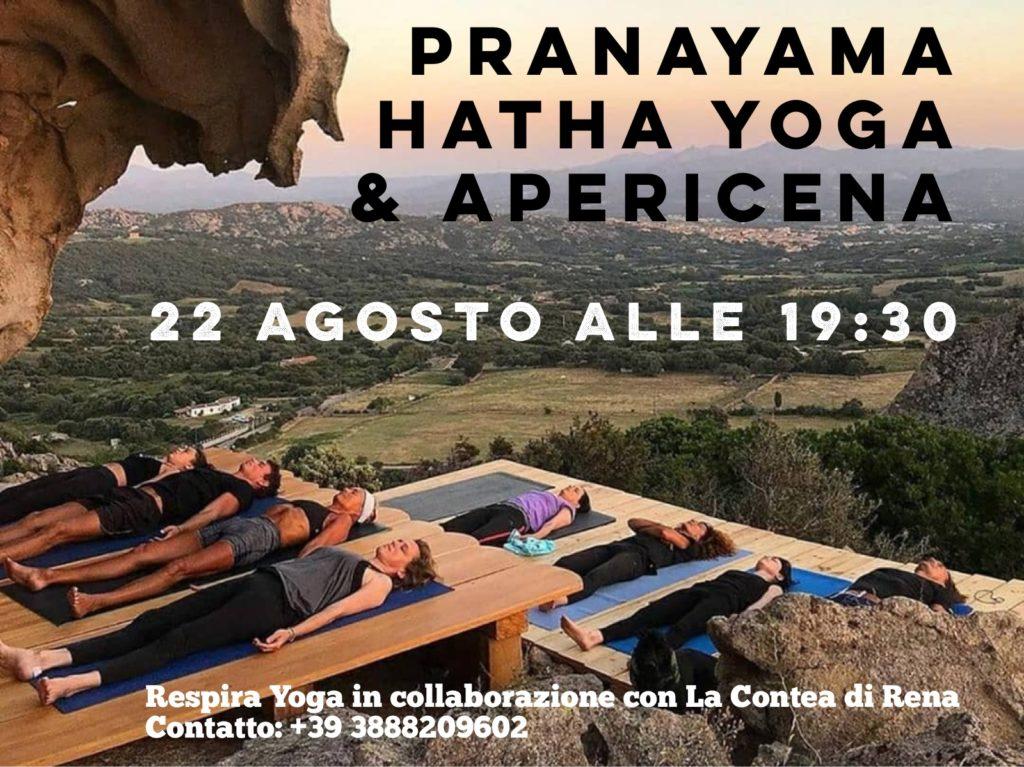 Pranayama & Hatha Yoga + Apericena